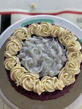 "Load image into Gallery viewer, Ube Macapuno Cake 8"" by Yummerienda"