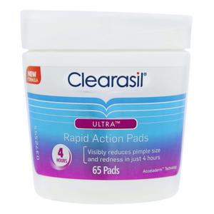 Clearasil Ultra Facial Wipes Deep Pore