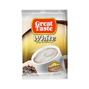 Great Taste 3 in 1 White Coffee  30g x 10's