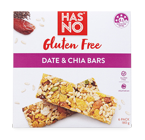 Has No Gluten Free Bars 6pk/180g