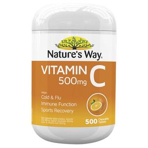 Nature's Way Vitamin C Tablets