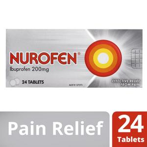 Nurofen Pain And Inflammation Relief Tablets 200mg Ibuprofen