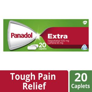 Panadol Extra with Optizorb Paracetamol Pain Relief Caplets