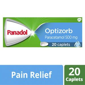Panadol Optizorb Paracetamol Pain Relief Tablets