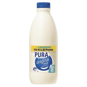 Pura Full Cream Milk - 1L