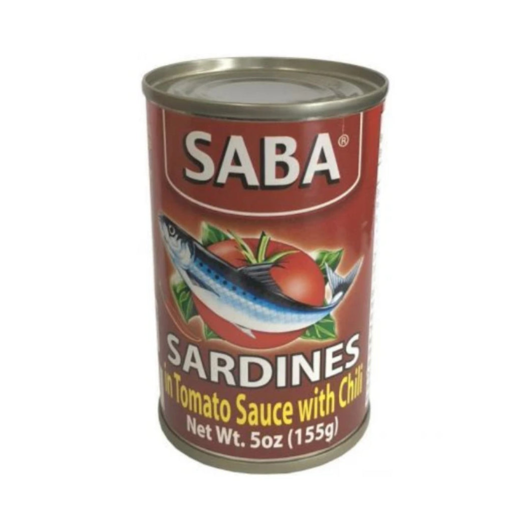 Saba Sardines in Tomato with Chili (Red) 155g
