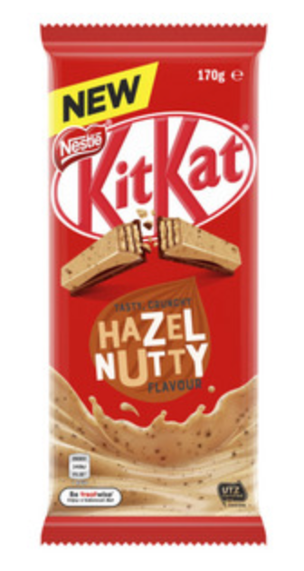 Nestle Kit Kat Hazelnutty Block
