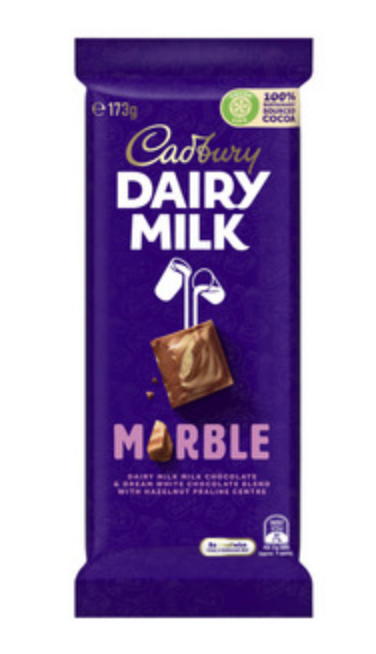 Cadbury Dairy Milk Marble Chocolate Block