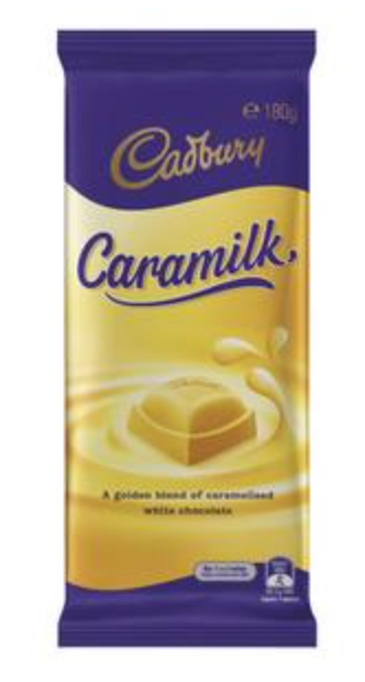 Cadbury Caramilk Chocolate Family Block