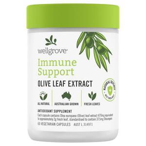 Wellgrove Immune Support Olive Leaf Extract - 60 Capsule