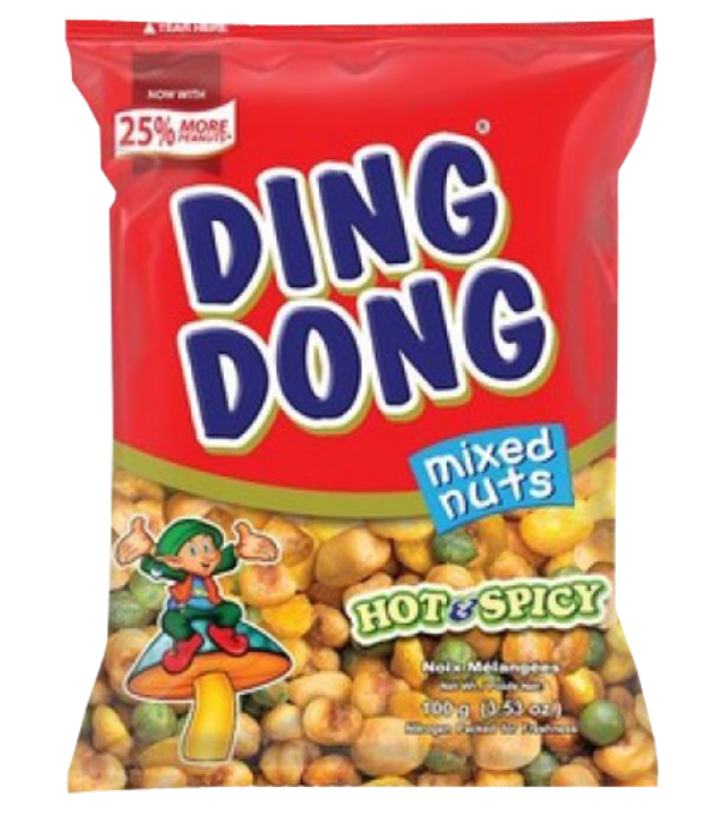 DingDong hot & spicy 100g