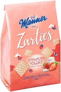 Manner Zarties Wafer (Strawberry Yoghurt) 200g
