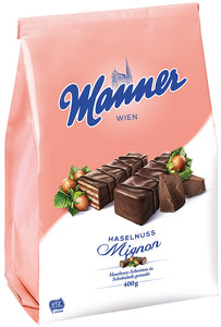 Manner Hazelnut Chocolate Wafer (400g)