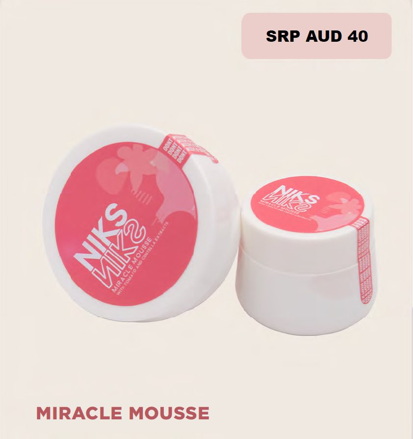 Niks Miracle Mousse Kit / Package