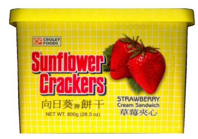 SF Cracker Strawberry 800g