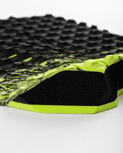 CREATURE Mick Fanning Traction Black Fade Lime