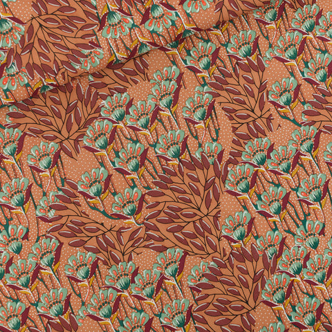Gilly Flowers - Viscose Rayon - Sunburn Brown - See You at Six