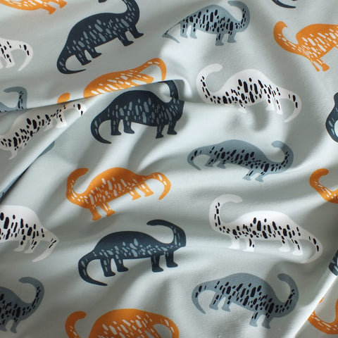 Dinosaurs - French Terry Fabric - Olabela