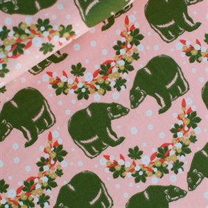 Bearlin With Love - 100% Cotton - Soft Cactus Fabric