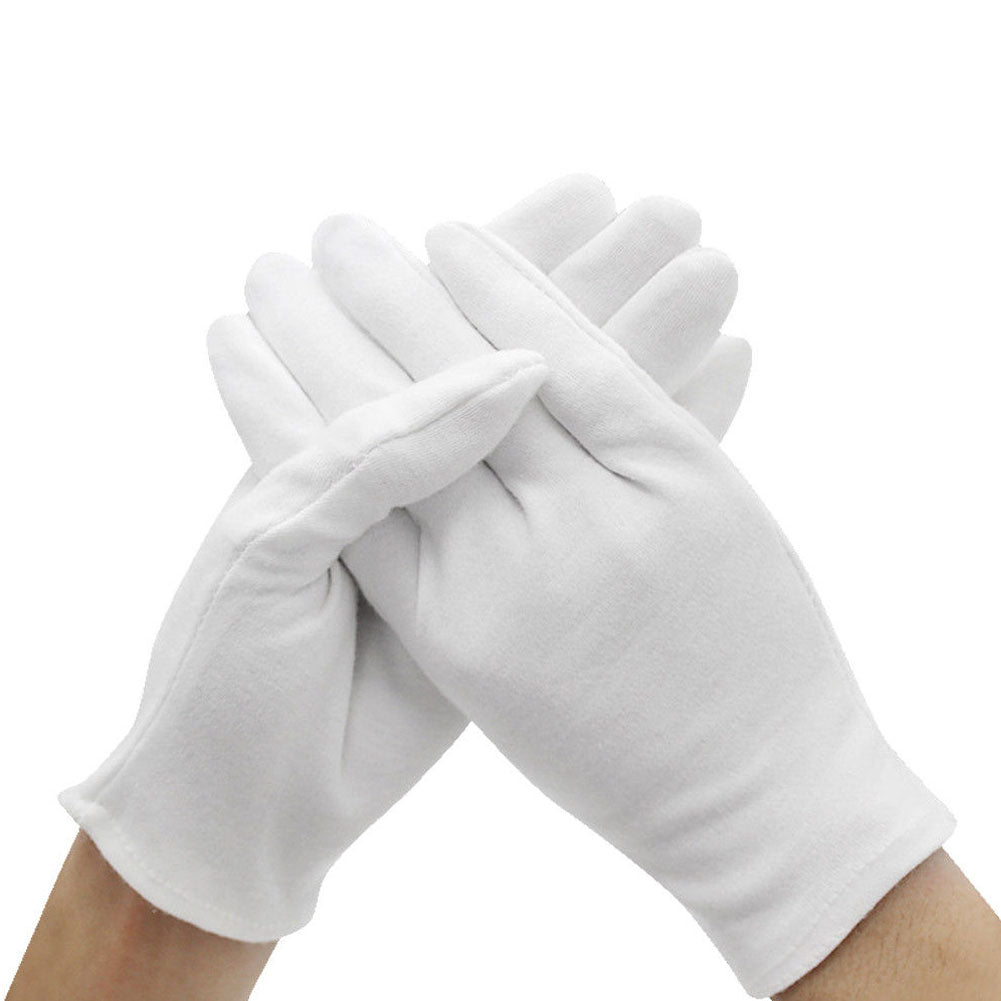 Plastic-Free Reusable Cotton Gloves