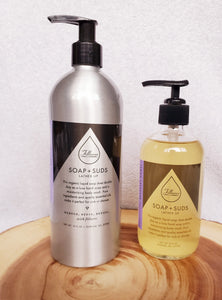 Refillable Lemon Lavender Hand and Body Wash