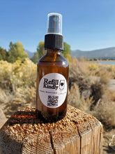 Load image into Gallery viewer, 2 oz. Refillable Natural Hand Sanitizer Spray