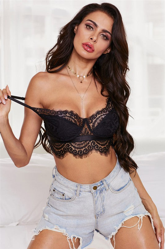 Live A Little Fun Lace Bralette