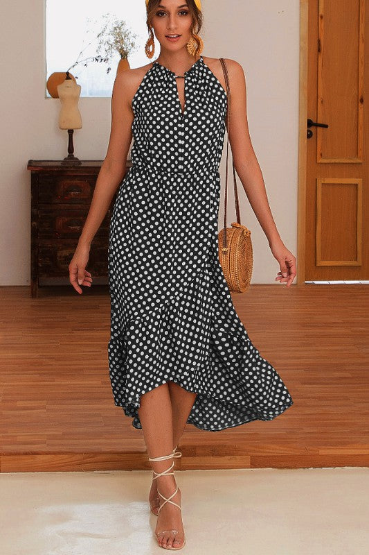 Classic Elegant Sleeveless Maxi Dress