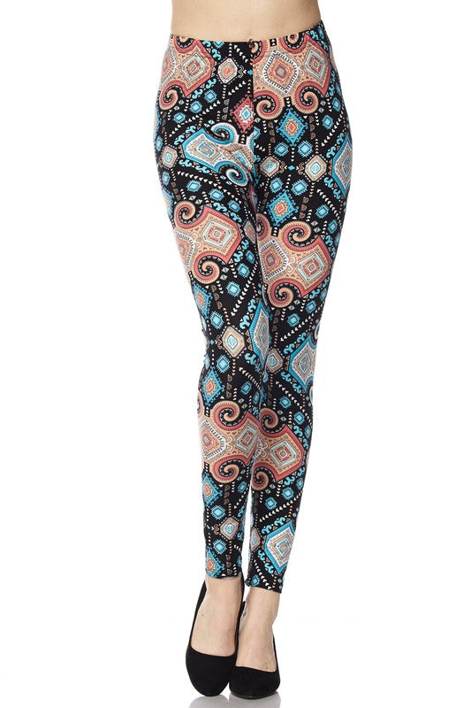 Adult Queen of the Sea Leggings
