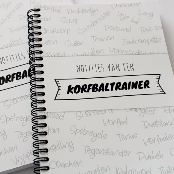 Notitieboek - Notities van een korfbaltrainer (PRE-ORDER)