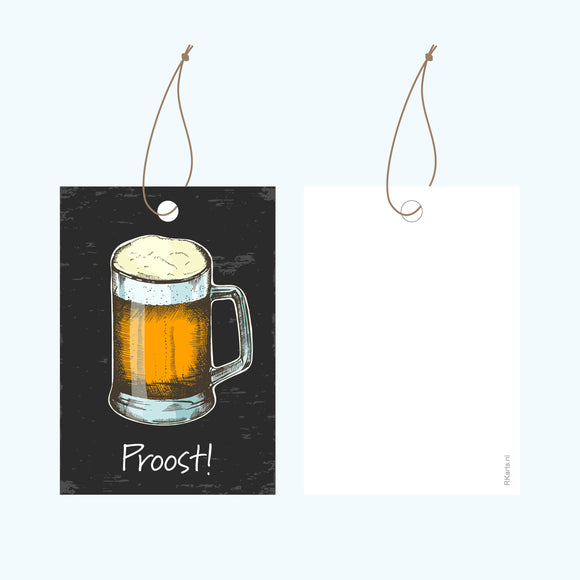 Cadeaulabel - Proost!