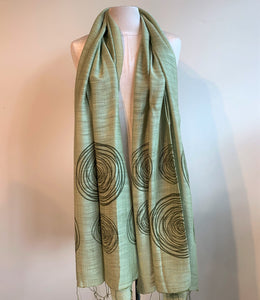 Circles Scarf - 4 colours available