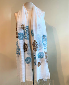 Shell Scarf - 4 colours available