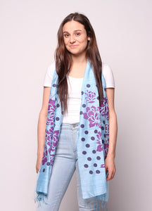 Floral Dots Scarf - 3 colours available