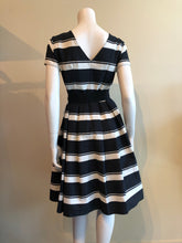Load image into Gallery viewer, Stripe A-line Dress