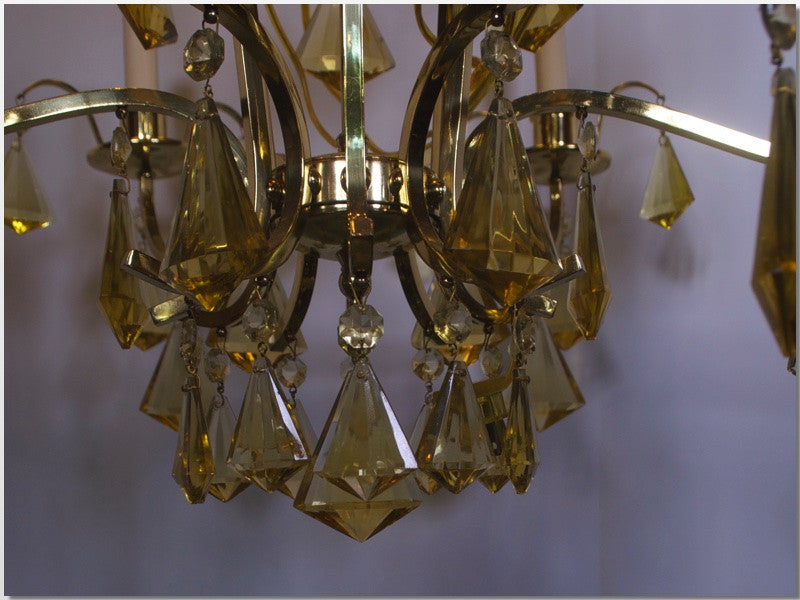 Lighting Tagged Chandelier Powell Accessories - Yellow chandelier crystals