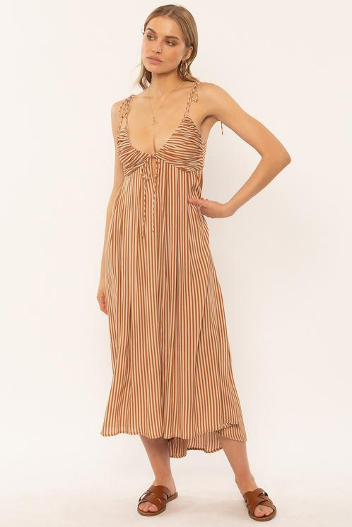 FERN WOVEN DRESS-TAM