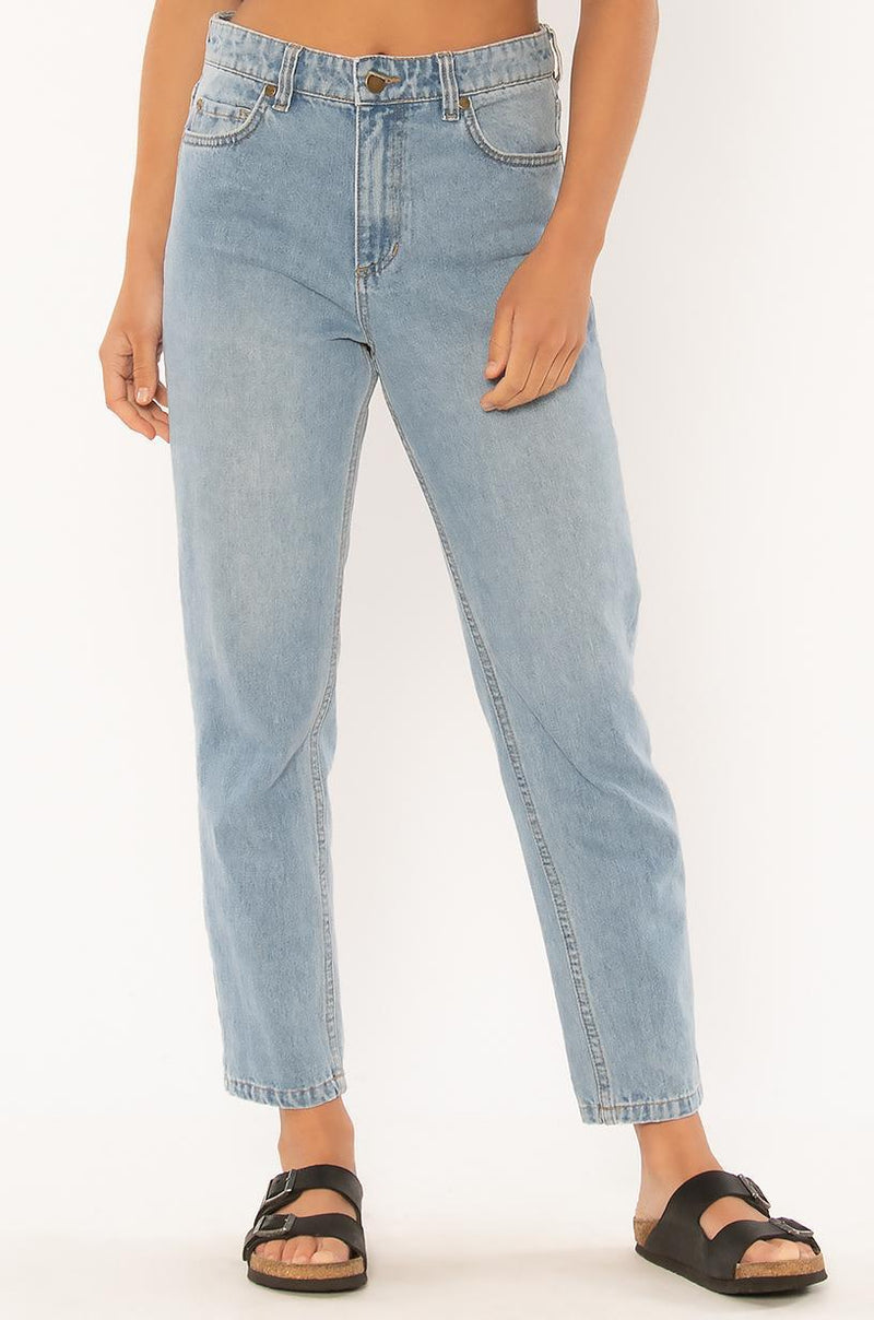 WATCH ME GO DENIM WVN PANT-BLW