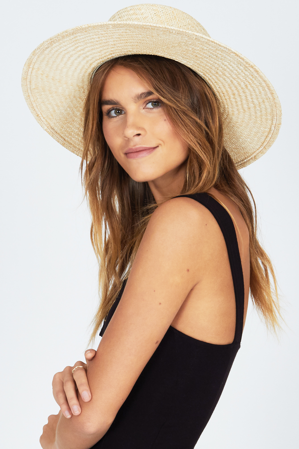 BEACH BOLERO HAT-NAT