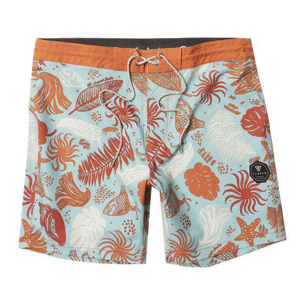 "TC Pacific O Blue 17.5"" Boardshort-AQU"