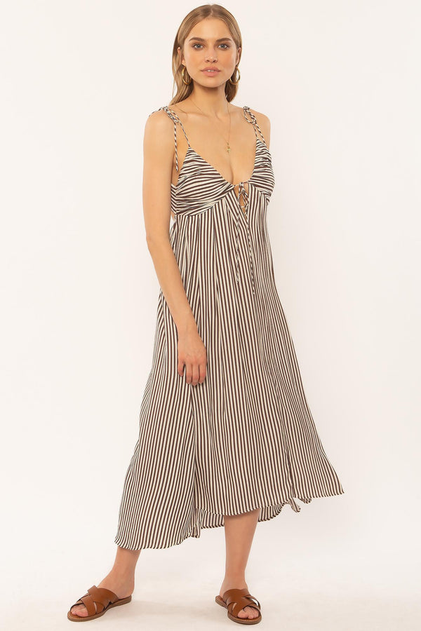 FERN WOVEN DRESS-OCE