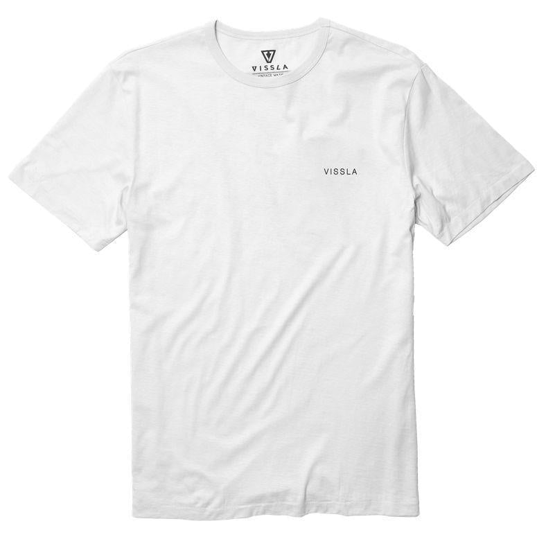Echoes Tee-WHT