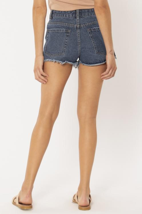 CROSSROADS DENIM WVN SHORT - TBW