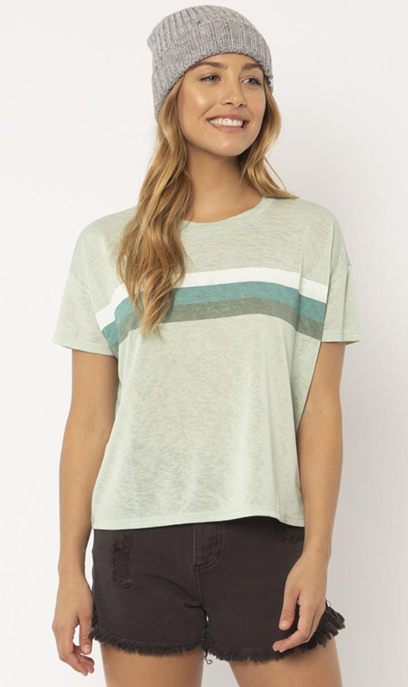 MADDIE S/S KNIT TEE -ALO