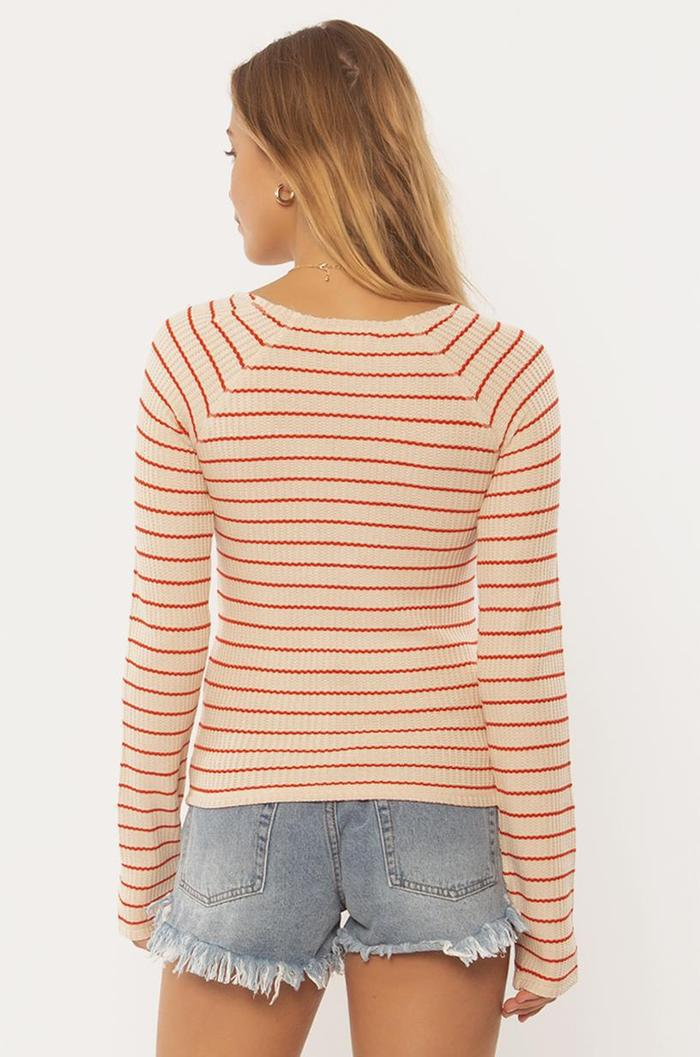 HAZY DAYS L/S KNIT TOP-PBL