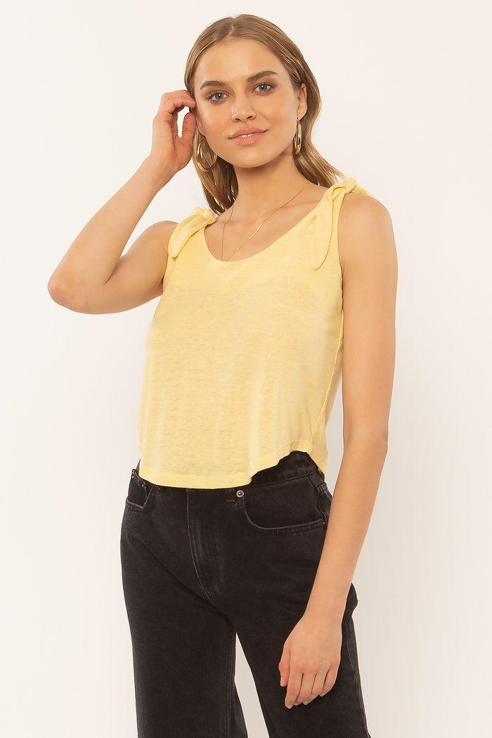 AFTERNOON HAZE TANK KNIT-PNA
