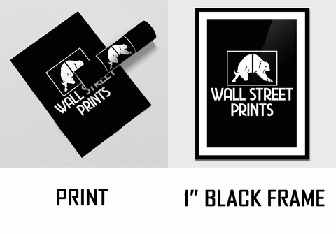finish options for print artwork from wall street prints