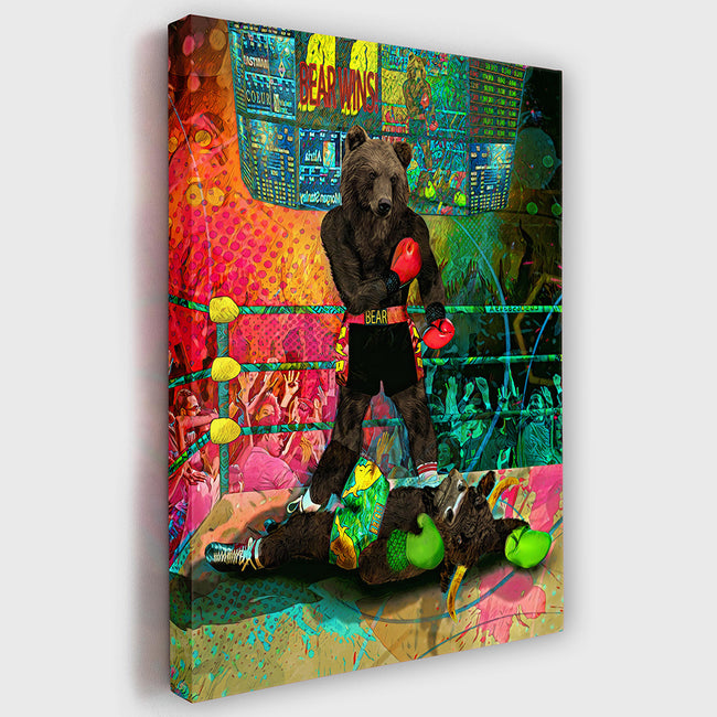 BEARS WIN | Wall Street Artwork | Home & Office - Wall Street Prints