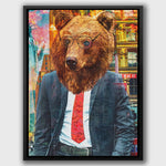 MODERN BEAR - Wall Street Prints