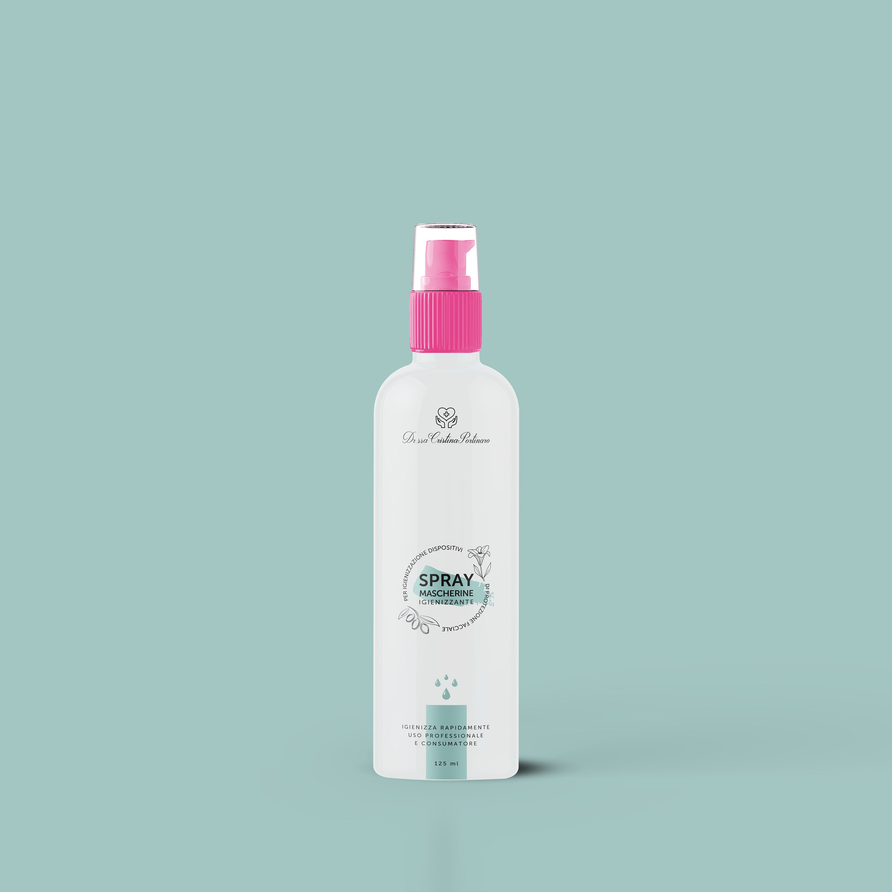 Spray mascherine igienizzante 125 ml
